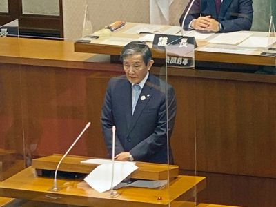 【新型コロナ】12月県議会開会・33億円余りの補正予算案提出(写真付)