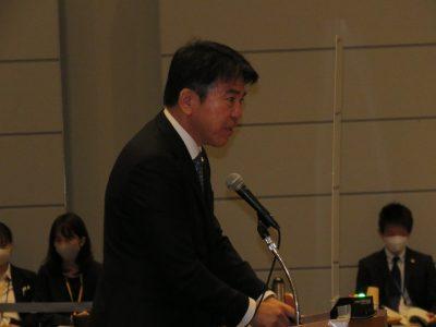関西広域連合議会11月臨時会 鈴木太雄議員が登壇(写真付)