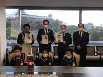 保育園児が和歌山市長を表敬訪問(写真付)