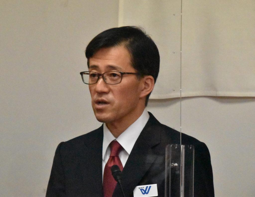 和歌山県警で仕事始め式 親家本部長が年初の初訓辞