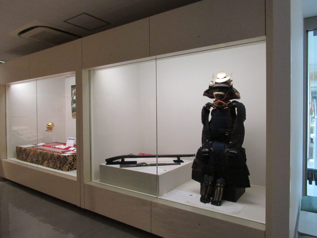 冬の企画展示の様子(わかやま歴史館)