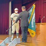 センバツ出場の市立和歌山高校に選抜旗授与