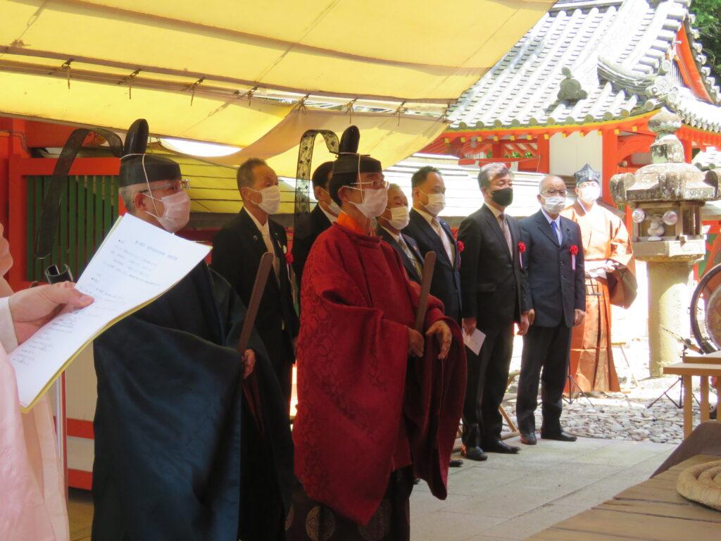 廣八幡神社から廣八幡宮へ 名称戻す「奉祝祭」