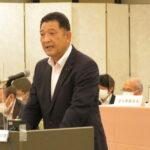 関西広域連合議会で中本議員(自民県議団)登壇