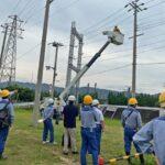 関電・非常災害時の復旧訓練
