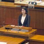 県議会・新議長に森礼子議員・県政史上初の女性議長