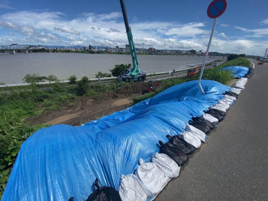 大雨の影響、和歌山市を中心に被害発生