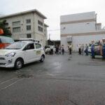 電気使用安全月間で街宣活動 コロナでビラ配布なし