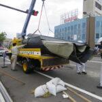 【台風9号】和市内で屋根吹き飛ぶ 3人転倒してケガ