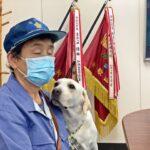 行方不明の高齢者早期救助で嘱託警察犬に感謝状