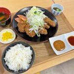 和歌山県庁のきいちゃん食堂でくじらカツ定食限定提供