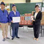 和歌山LCが和歌山市旭学園に不織布マスク1年分を寄贈