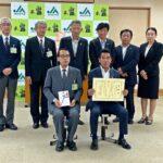 【新型コロナ】JAわかやま・県立医大と日赤にジンジャーエール贈呈