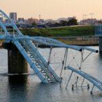 【水道橋破損】和歌山市で紀の川の水道橋破損・市内紀の川北部で断水