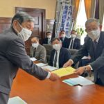 和歌山県商工会議所連合会が仁坂知事に要望書