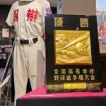 「智辯和歌山優勝展」わかやまスポーツ伝承館で開催中