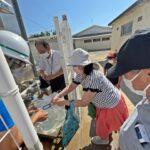 【水道橋破損・断水】小学校22か所で給水始まる